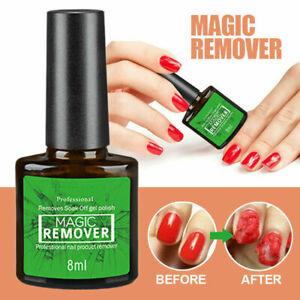 Burst Nail Gel Magic Remover Nail Polish UV Gel Soak off  Clean Degreaser 2020