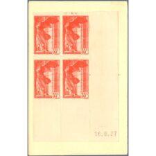 N°__355 VICTOIRE DE SAMOTHRACE, TIMBRES NEUFS SUR CARTE POSTALE, 1937