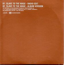 "PLACEBO ""SLAVE TO THE WAGE"" ULTRA RARE PROMOTIONAL CD SINGLE"