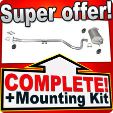 Land Rover Freelander 2.0 DI TD 1998-2000 Silencer Exhaust System 892