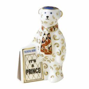 Royal Crown Derby, A Royal Birth Its a Prince - Newspaper Seller
