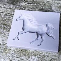 Pferd Silikonform Fondantform Kuchen Dekor Werkzeuge-Schokoladenform  Neu