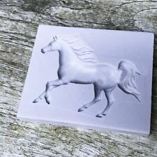 Horse Silicone Mold Fondant Mold Cake Decor Tools Chocolate Mould NEW