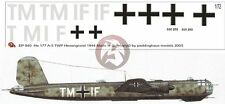 Peddinghaus 1/72 He 177 A-5 Greif Markings TWP Gotenhafen-Hexengrund 1944 940