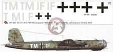 Peddinghaus 1/72 He 177 A-5 Greif Markings TWP Gotenhafen-Hexengrund 1944 EP940
