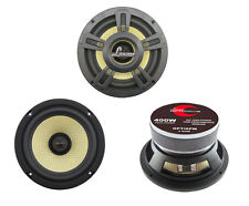 1 New Lanzar OPTI6PM OptiPro 400Watts 6.5'' High Power Coaxial Speaker Car Audio