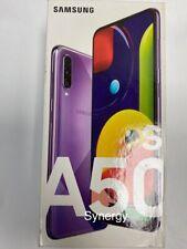 "Samsung Galaxy A50s 128GB SM-A507/DS Dual Sim (UNLOCKED) 6.4"" VIOLET"
