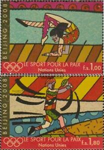 UN - Geneva 602-603 (complete issue) unmounted mint / never hinged 2008 Olympics