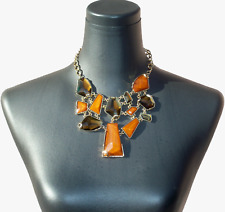 """$138 NWT NORDSTROM """"Keep Rockin'"""" Multi Stone Frontal Necklace"""