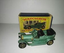 Matchbox Yesteryear Y15 Rolls Royce Silver ghost with original box 1960.Lesney