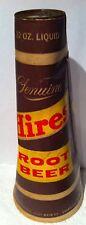 Vintage Hires Root Beer Soda Pop Cone - 32 Oz