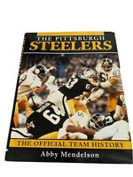 Pittsburgh Steelers The Official Team History 1996 Coffee Table Book    Vintage