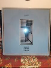 Blitz - Second Empire Justice LP NEW! SEALED! W/ POSTER menace discharge uk punk