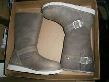 UGG AUSTRALIA KENSINGTON Biker Boots LAVENDER Taupe Brownish UK 3.5 / US 5 NEW
