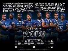 2017 KY University of Kentucky Wildcats Football Schedule/Poster The O Line