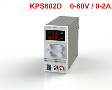 Mini Adjustable Switch DC Power Supply KPS602D Output 0-60V 0-2A AC110-220V
