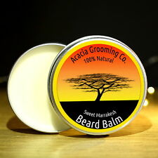 Acacia Grooming Co. | Strong White Beard Balm | Sweet Marrakesh | 15ml | Natural