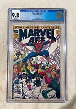 MARVEL AGE #114 (1992) CGC 9.8 🔥1st SPIDER-MAN 2099 🔥 ROMITA Cover VENOM