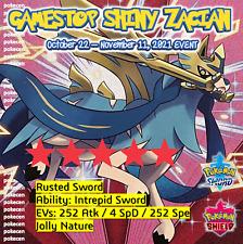 Shiny Zacian GameStop Mystery Event   Pokémon Sword