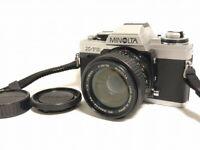 Near MINT w/ 50mm f1.4 Minolta XG-M X-70 35mm SLR Film Camera from Japan #11234