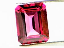 2.99ct Natural Loose Purplish Pink Tourmaline GIA Octagonal Emerald VS1 No Heat