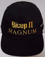 VTG 1990s Bicep II MAGNUM Novartis MISSOURI TIGERS MU MIZZOU Snapback Hat Cap