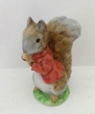 RARE BESWICK BEATRIX POTTER FIGURE - TIMMY TIPTOES BP2a GOLD OVAL - PERFECT !!