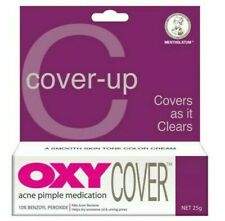 4x Oxy Acne Pimple Cover-Up Medication Cream 10% Benzoyl Peroxide Concealer 25g