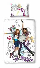 Disney Shake It Up Glo Girl Single Size Polyester/Cotton Duvet Set