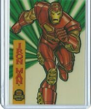 1994 Marvel Universe Cards - Iron man - Suspended Animation 4 of 10