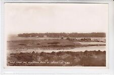 BAY SERIES POSTCARD GOLF LINKS & BEMBRIDGE FROM ST HELENS, ISLE OF WIGHT