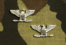 PAIR OF US AIR FORCE, USMC COLONEL US NAVY CAPTAIN RANK; COLLAR SIZE