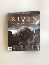 Riven the Sequel to Myst, Red Orb, Cyan, PC Game, CD's still sealed