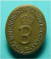Nederland 1944-1945 BINNENLANDSE STRIJDKRACHTEN Knoopmodel ORIG - Prins Bernhard