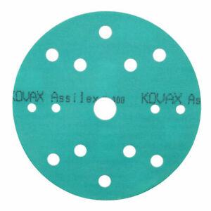 Kovax Super Assilex K400 Ø 152mm 15-Loch 25 Blatt/Pack 193-2533