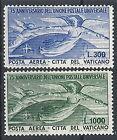 1949 VATICANO POSTA AEREA UPU MNH ** - EDRR12184