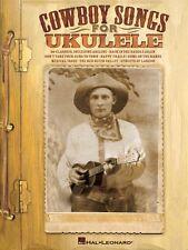Cowboy Songs for Ukulele Sheet Music Ukulele Book NEW 000118589