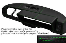 GREEN STITCHING FITS FIAT X1/9 X19 DASH DASHBOARD LEATHER SKIN COVER ONLY