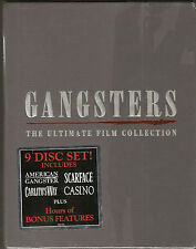 Gangsters: The Ultimate Film Collection (DVD, 2008, 9-Disc Set) New & Sealed!!!