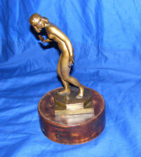 Art Deco NUDE BRONCE AVANTGARDE  early 1900s