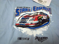 NWT BABY BLUE 3T START YOUR ENGINE RACE SHIRT LOOK BUY!