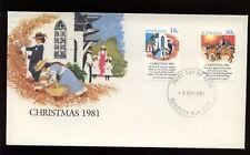 Australia 1981 Christmas Fdc