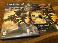 Shadow The Hedgehog - UK Sony PS2 + Instructions VGC Sonic