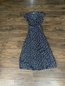 other stories  Floral Midi Wrap Dress, Size 34, UK 6-8. NWOT