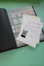 HONG KONG Commonwealth 1863 Unused Certificate Investment Stamp Collection