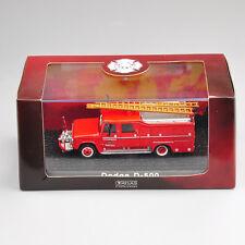 1/72 Scale Atlas Model Alloy Diecast Dodge D-500 Vehicle Fire Truck Car Toys