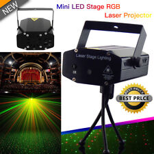 RGB DJ Disco LED Light Mini Laser Projector Stage Lighting Xmas Show Party AU