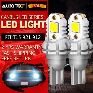 Super Bright Canbus LED Bulb 5050SMD For Car Backup Reverse Light 912 921 T15