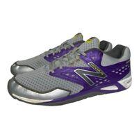 New Balance Womens Minimus WX00 Cross Training Shoes Gray Purple WX00GP Size 8.5