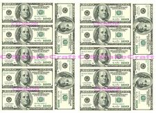Doller Bill Pounds Money Cupcake Fairy Cake Toppers Edible Rice Paper Decoration